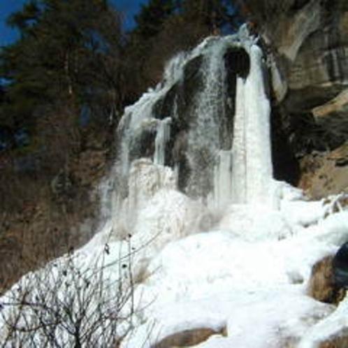 冬の横谷渓谷
