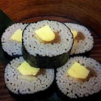 お夜食「そば寿司」