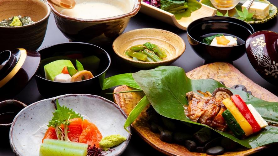 昼食プラン 信州福美鶏のミニ懐石コース