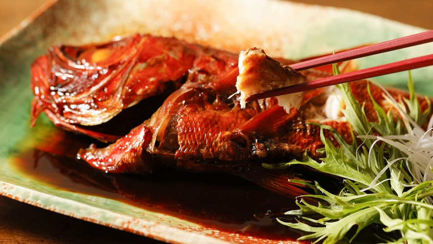 【金目鯛の姿煮付け】なんと35センチ以上の超特大金目鯛