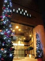 クリスマス外観入り口