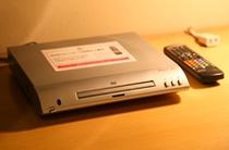 無料サービス⑤『DVDプレーヤー貸出し』