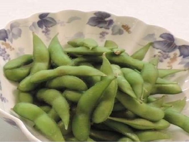 ★夕食★おつまみ『枝豆』※ご宿泊特価¥200※