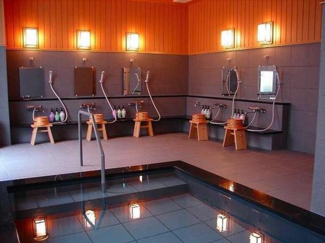 ◆男性浴場◆※洗い場は5か所ございます。