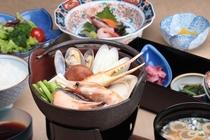 ★夕食★海鮮鍋定食♪