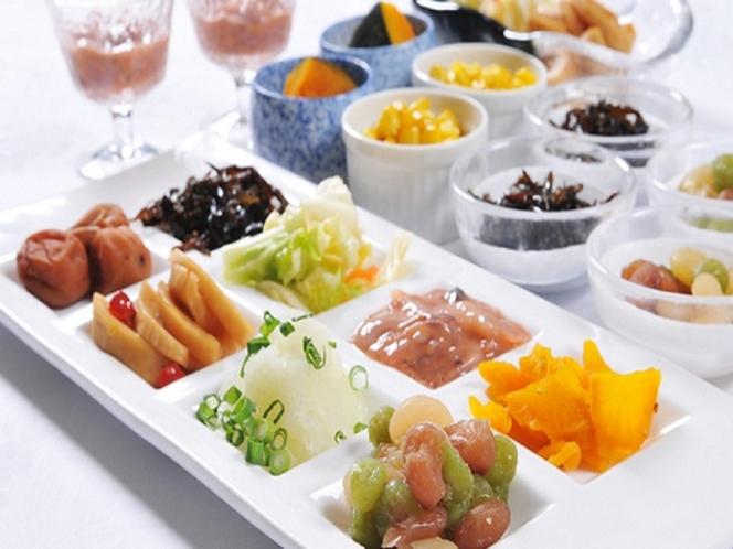 朝食バイキング【漬物類】和洋50種類の豊富なシェフ特製健康メニュー♪