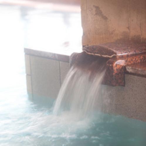 ≪大浴場 湯口≫