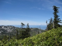 岩菅山からの眺め