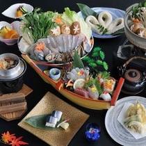 秋の味覚料理。(一例)