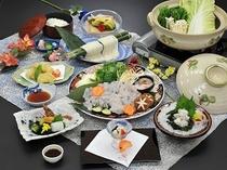 鱧すき鍋コース