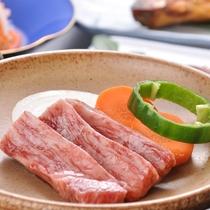 佐賀産和牛の陶板焼き
