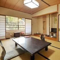 嘉瀬川沿いの12畳和室畳