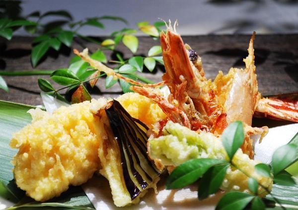 大海老の天ぷら