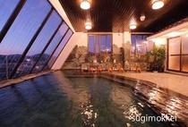 夕暮れの大浴場