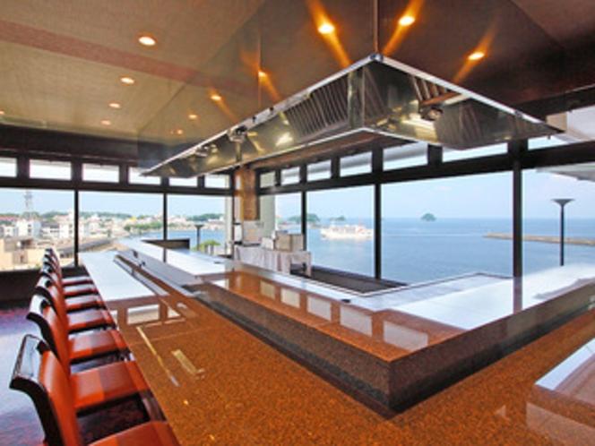 【ステーキハウス新山】海を見下ろす最高の眺望 ※予約制