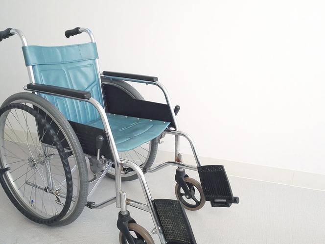 車椅子の貸出あり