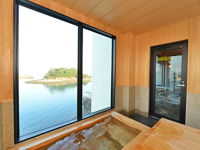 岬の湯 展望水風呂