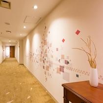 エレベーター前アロマ一例(イメージ)