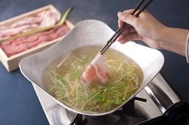 ★【京だし塩しゃぶしゃぶ】国産牛肉&豚肉(2)