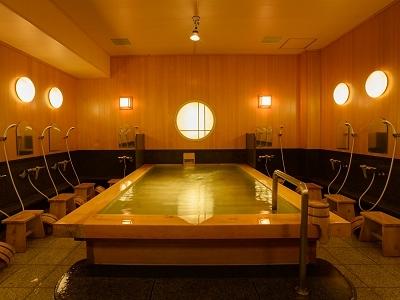 ひのき風呂大浴場