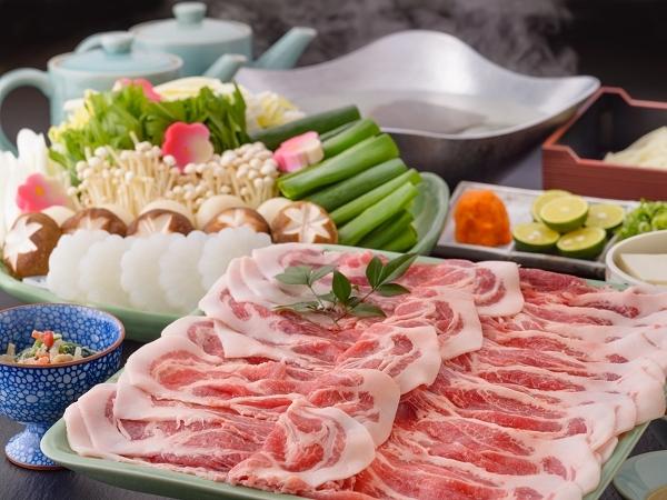 京都丹波産豚肉のしゃぶしゃぶ
