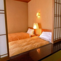 特別室701号室・ベッド