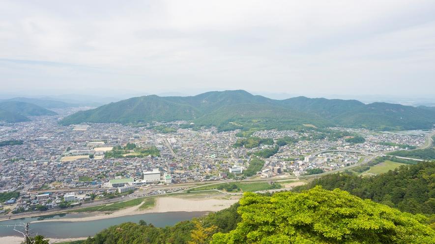 ◆岐阜城からの眺望(車で約15分)◆