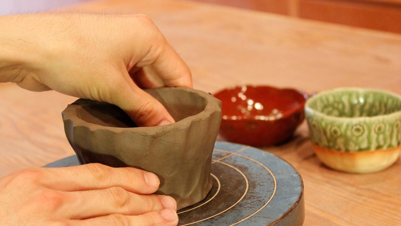 【陶芸工房】手びねりコース。世界でただ一つだけの作品を・・・