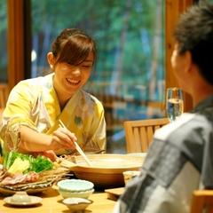 【最大6時間ステイ】部屋+温泉+夕食(大浴場・3種無料貸切風呂)14:00-20:00☆