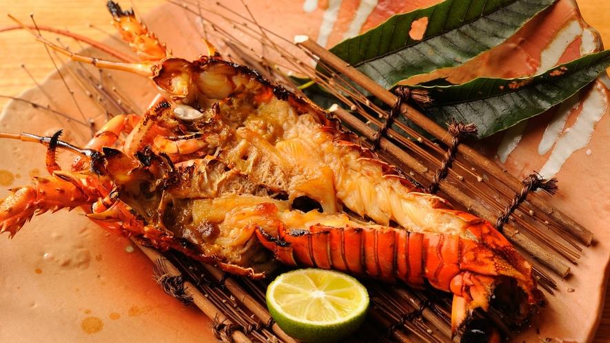 【追加一品料理】伊勢海老鬼殻焼き※5/15~9/15迄は禁漁期間となりますのでご提供が出来かねます。