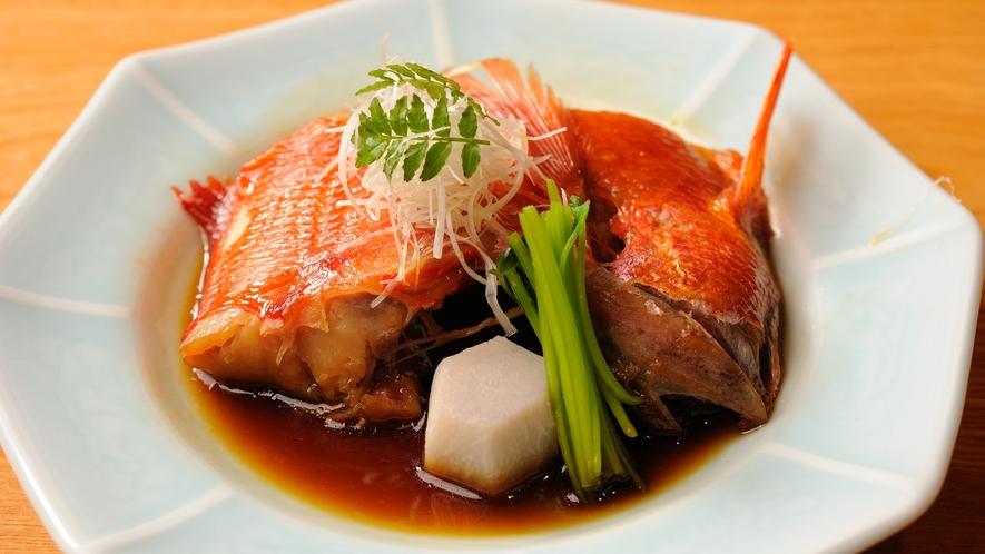 【追加一品料理】金目鯛の煮付け