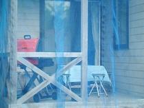 【禁煙和洋室/6名用テラス】虫除けネットを完備!のんびりBBQをお楽しみ下さい