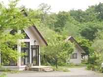 自然豊かな離れの宿