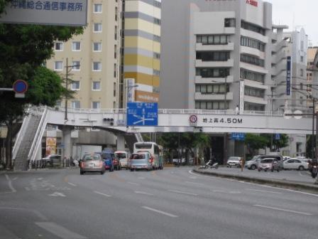 駅からホテルまでの道のり