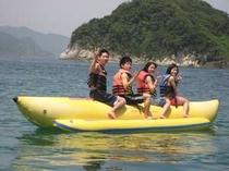 夏のバナナボート無料体験