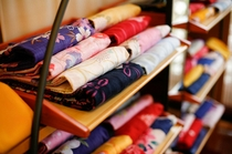 色浴衣は女性への無料サービス