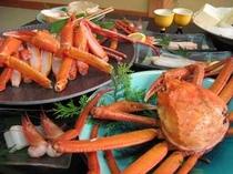 香住蟹1.5匹のフルコース