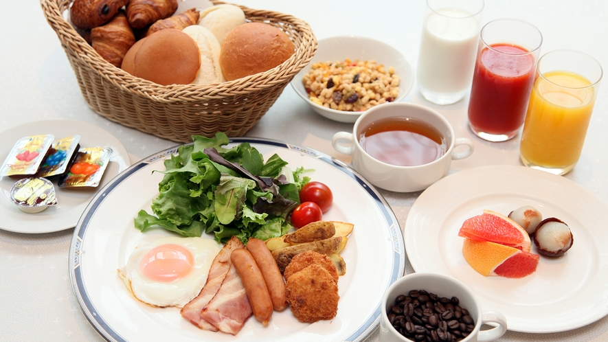 朝食(洋食セットイメージ 2021年5月初旬まで )