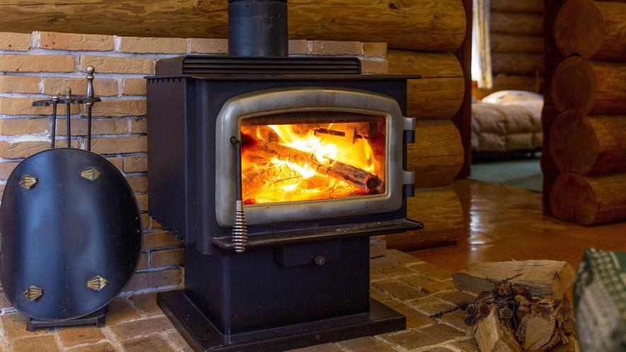 【ログハウス】暖炉(イメージ)