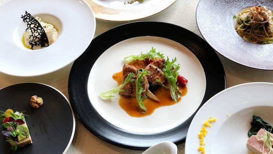 冬の訪れ洋食コース料理(イメージ)