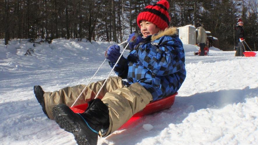 【冬の草津を楽しもう】雪遊びなど、冬限定の遊びがいっぱい♪