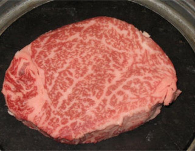 特選信州牛ヒレ肉の石焼き