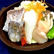海鮮鍋(プラン)