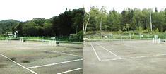 美鈴荘専用テニスコート(2)