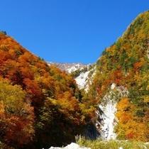 紅葉の『高瀬渓谷』
