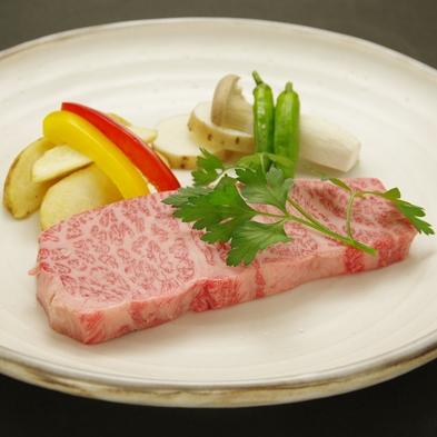 【一番人気】お肉好きも大満足!メイン料理は山形牛ステーキ(150g)
