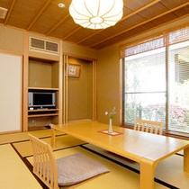 【本館A】和室10畳・ベットルーム半露天付客室