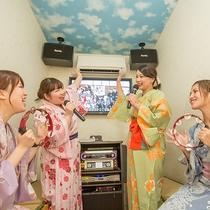 【カラオケルーム】カラオケルームで盛り上がろう!!