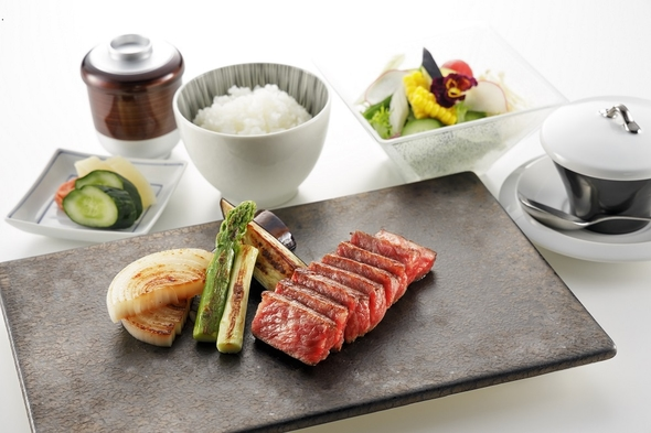 【ご当地グルメ】【昼朝食付】美味しい神戸ビーフステーキ◇レストラン『神戸プレジール』いちおしランチ