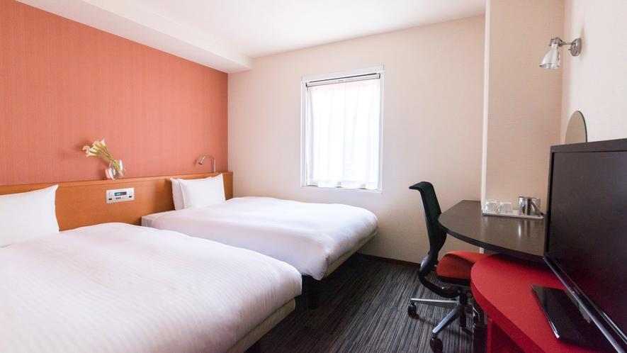 客室【スタンダードツイン】16平米 ベッド幅122cm バスタブ付き
